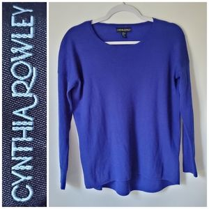 Cynthia Rowley Merino Wool High Low Loosefit